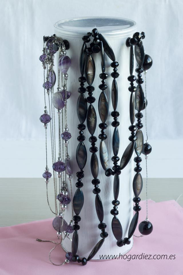 7021 best images about diy on pinterest diy jewelry organizer easy diy and manualidades - Colgador de collares ikea ...