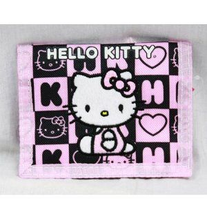 Trifold Wallet - Hello Kitty - Black Box Checker by Sanrio. $8.99. Licensed Wallet