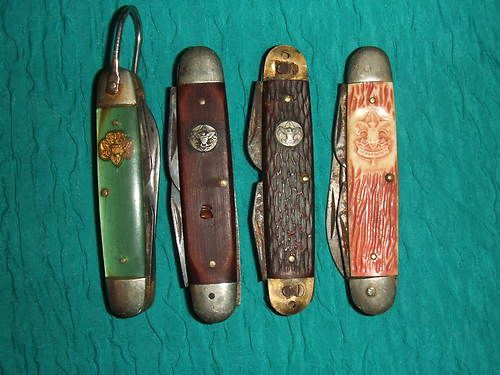 Lot of 4 Historic Vintage Boy Scout Pocket Knives Sold as Is Free Shipping | eBay