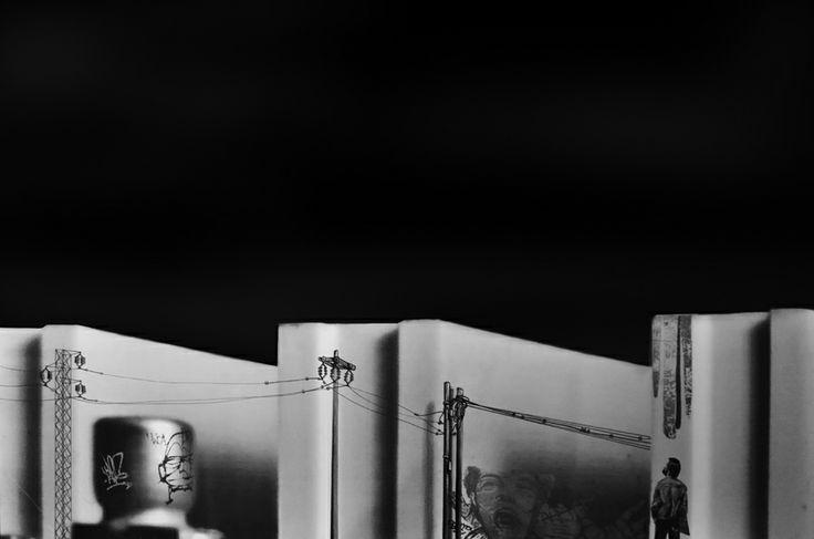 Mixed media disegno su foto Alessio Privitera contemporary art