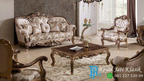 Set Sofa Tamu Klasik Victorian Ganesha Torres Usa Furniture
