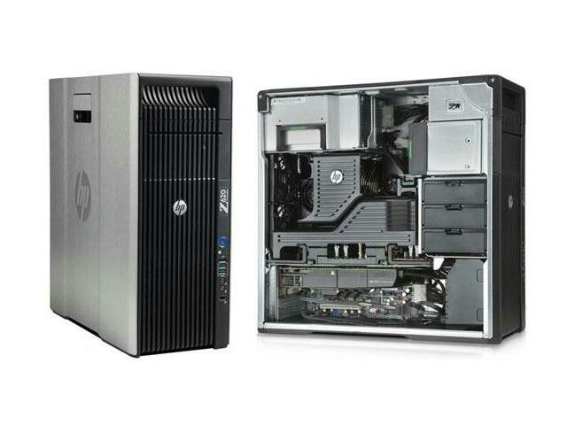 Refurbished: HP Z620 Workstation 2x E5-2670 Eight Core 2.6Ghz 192GB 1TB SSD DVDRW K5000 800W Win 7 Pro | got this cheap, so bought two. One for Linux server. Another for kodi box..