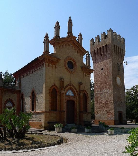 Cappella della Villa Conti, Civitanova Marche by pizzodisevo, slowly i will recover, via Flickr