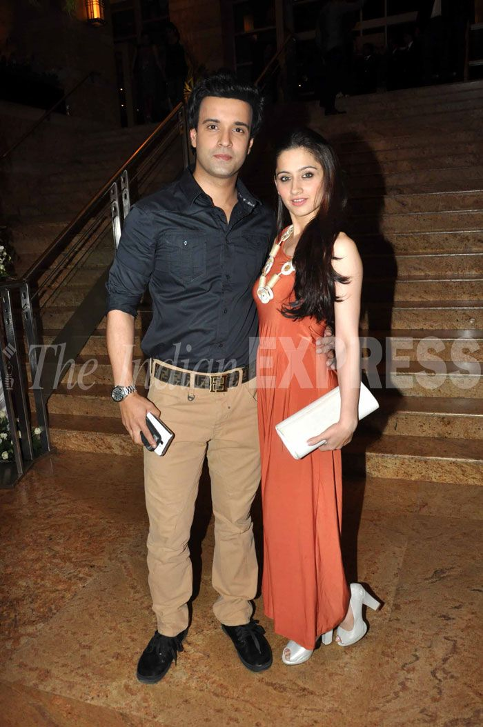 Indian TV actors and couple - Sanjeeda Sheikh with husband Aamir Ali.