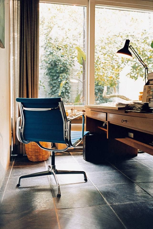 Another Vitra Home Office with the Aluminium Chair by Charles and Ray Eames.
