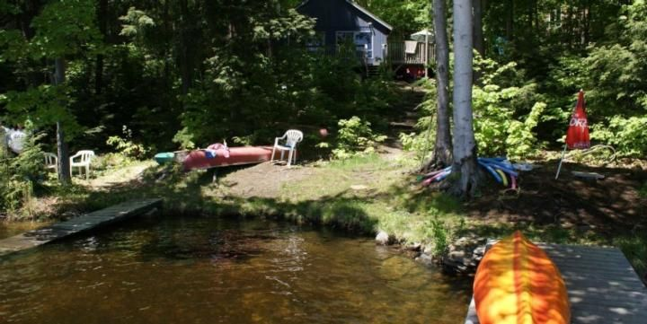 Powell Cottage on Galla Lake Rent Cottage in Mactier Lake Ontario, Kawarthas Ontario