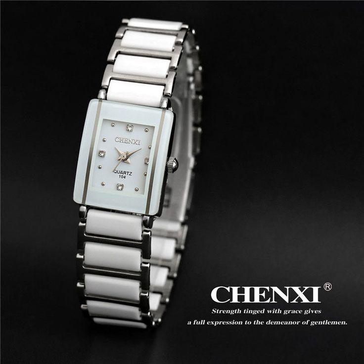 CHENXI 2016 Ceramic Wrist Watch Women Watches Ladies Brand Luxury Famous Quartz Watch Female Clock Relogio Feminino Montre Femme