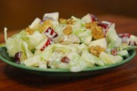 Waldorf Salad: A classic salad enriched with walnuts.