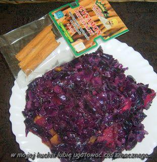 W Mojej Kuchni Lubię..: czerwona kapusta z cynamonem Royal Brand i jabłkie...