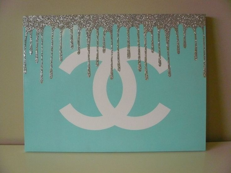Canvas Wall Art Diy Tumblr : Images about diy chanel decor on modern