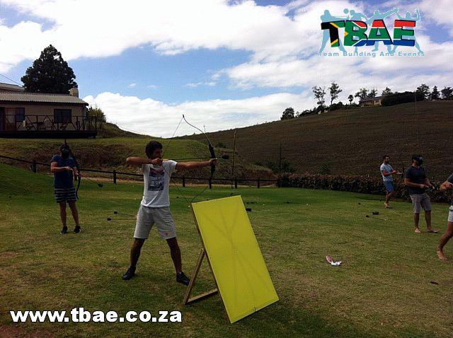 Martin Ras Tag Archery team building Cape Town
