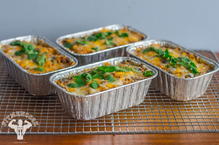 enchilada cazuela | Cazuela de Enchilada de Pollo Saludable | Fit Men Cook