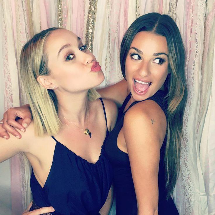Becca Tobin & Lea Michele                                                                                                                                                                                 More