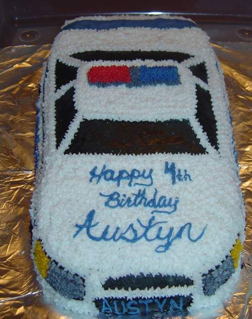 police car cakes pictures | Police Car — Birthday Cakes