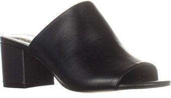 Callisto Mathis Block Heel Mule Sandals, Black.