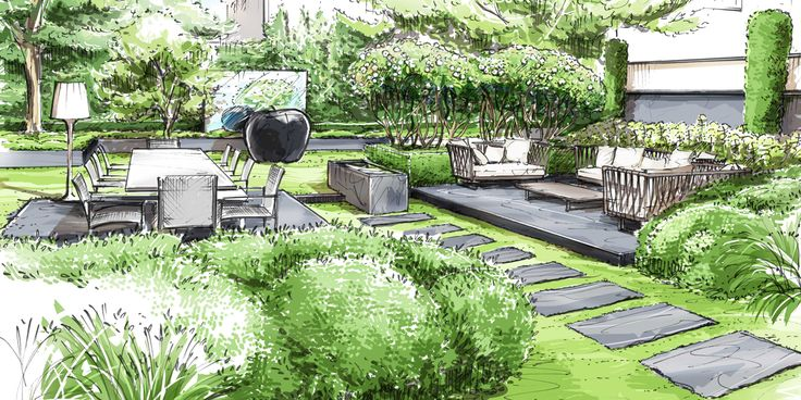 Les 25 meilleures id es de la cat gorie neuilly sur seine for 3d jardin paysagisme
