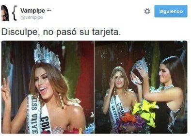 Como ya te habrás enterado, la representante de Filipinas, Pia Wurtzbach, fue coronada este domingo como Miss Universo 2015 en la gala celebrada en Las Vegas, Nevada, después de que, por error, el...
