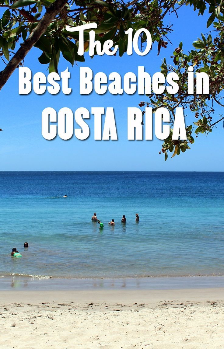 The 10 best beaches in Costa Rica! Put these beaches on your list of places to visit, all of them are beautiful and have something special to offer http://mytanfeet.com/costa-rica-beach-information/best-beaches-in-costa-rica/