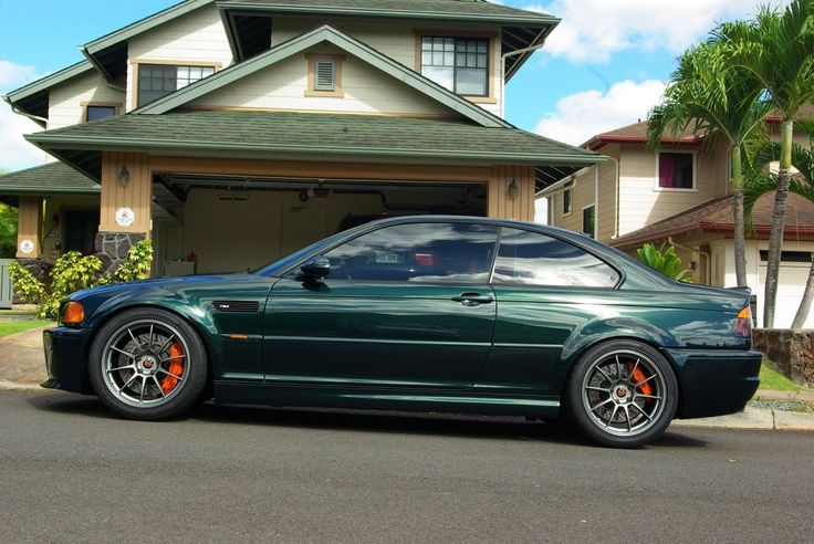 Bmw E46 Coupe Oxford Green Model Year Post 2001 Car