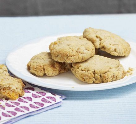 Get your children in the kitchen to bake a batch of these simple biscuits from CBeebies' 'i can cook'