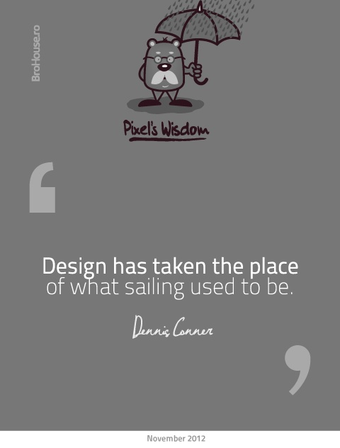 Design has taken the place of what sailing used to be - Dennis Conner