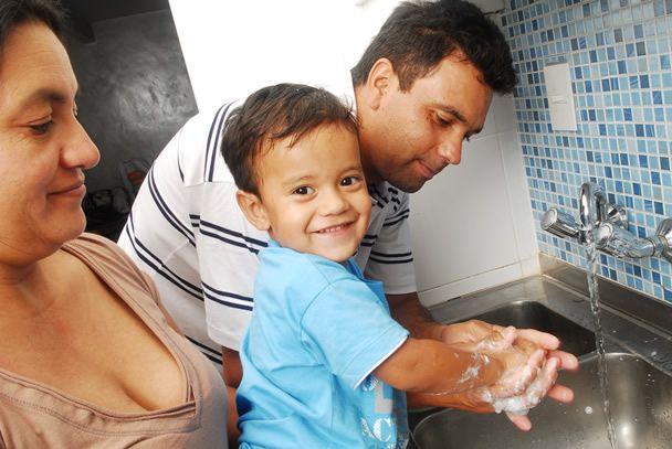PREVENCIÓN DE ENFERMEDADES Y CONTAGIOS (lavado de manos