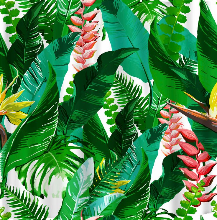 Designer Inspired Trendy Floral Tropical Theme - Can Be personalized