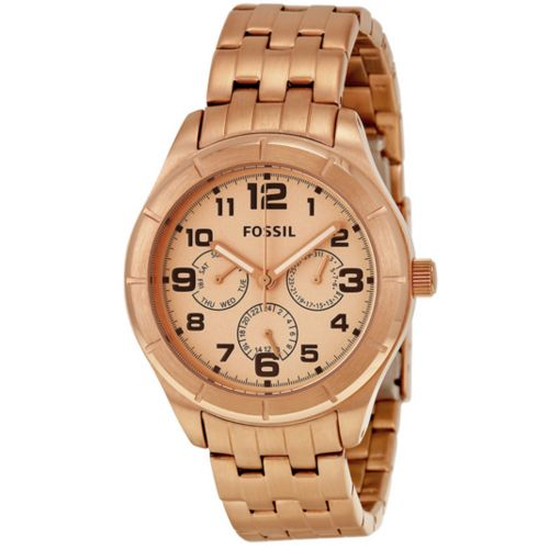 FOSSIL® Multi-Function Rose Dial Rose Gold-tone