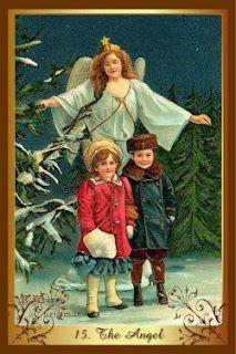 Перекрестки Таро - таролог Лина Айн: карта-совет от колоды  Christmas tarot.  Карта Анг...