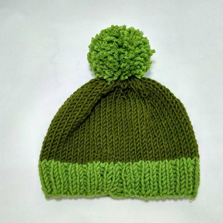 "#handmade #handed #knitting #knitwear #hat #hatknitting #needles #knitcap #cap #acrilyc 70% #wool…"""