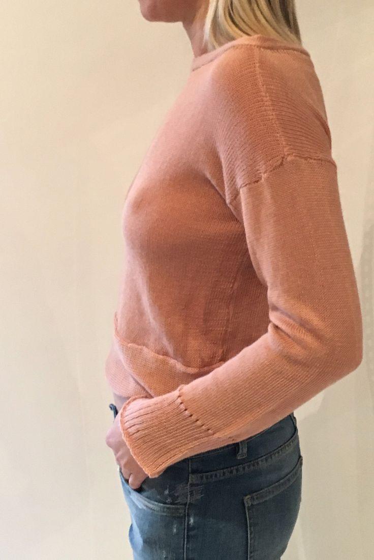 souchi crop kehle sweater