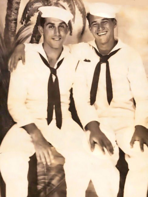 gay sailors enjoying flesh picinic