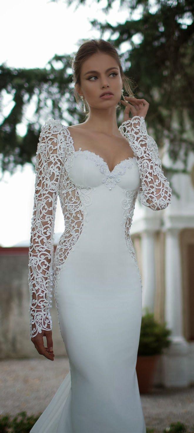 171 best Wedding Dresses images on Pinterest | Wedding ideas, Gown ...