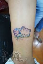 watercolor cat tattoo - Google Search