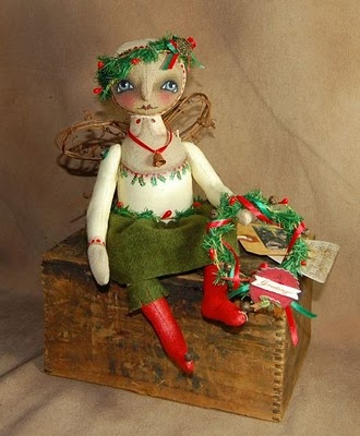 Winter Pine fairy by robin seeber