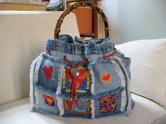 Riciclare creativamente per avere delle nuove borse alla moda! | Cucito creativo