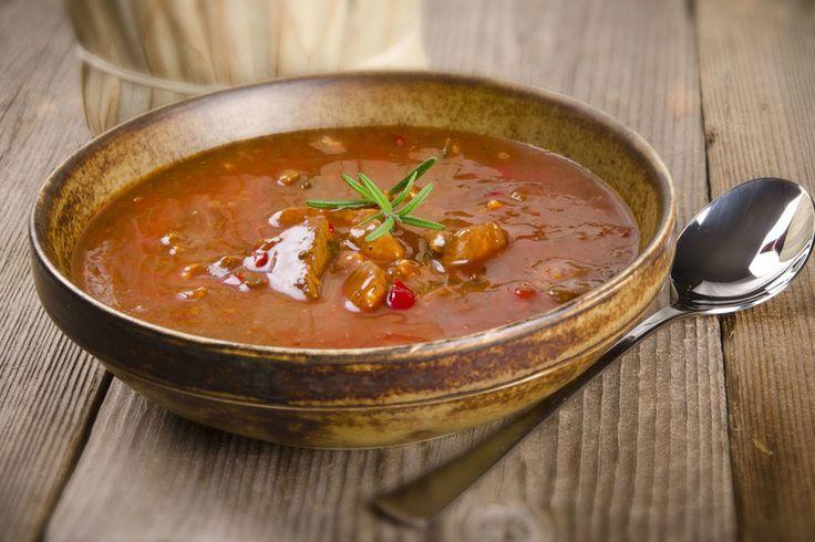 Gorąca zupa