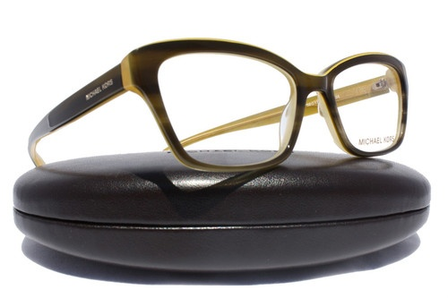a341ba6d6a Michael Kors MK257 Olive Yellow (325) Rx Glasses Eyeglasses Frame MK 257  325