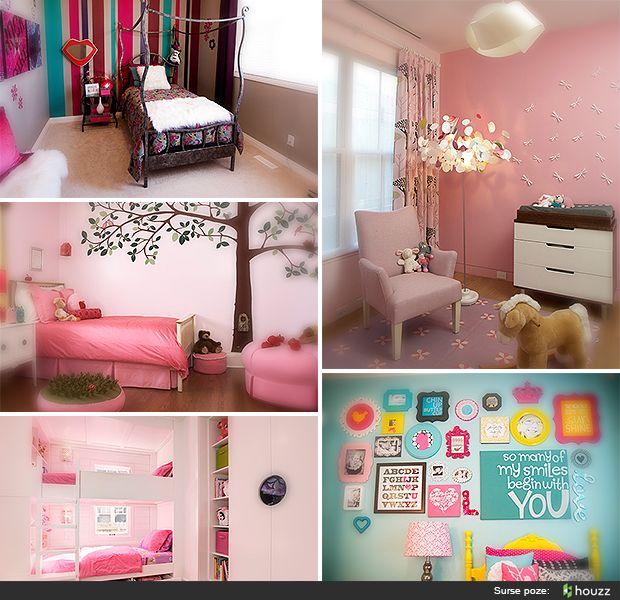 Idei pentru amenajarea camerei copilului