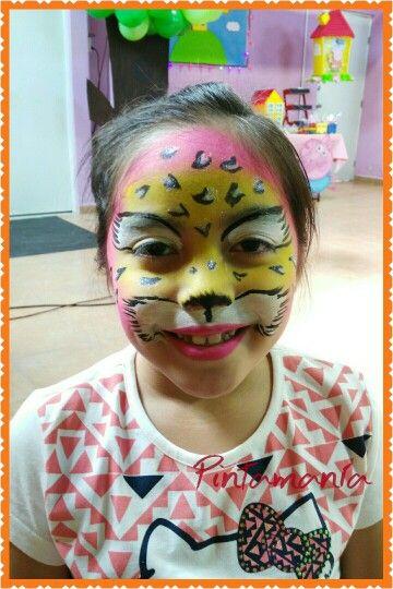 Face paint Leopardo