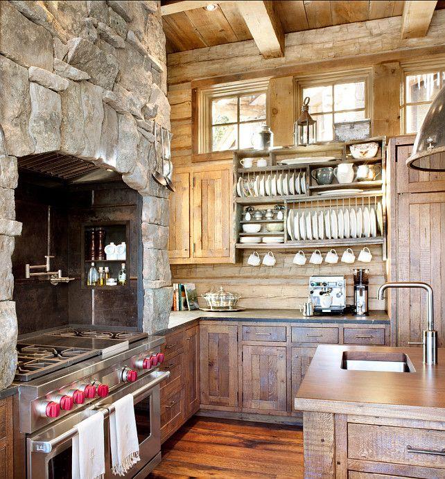 Rustic Ski Lodge