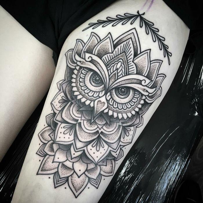 tatouage mandala signification et mod les pour vous inspirer tatouage pinterest id es. Black Bedroom Furniture Sets. Home Design Ideas