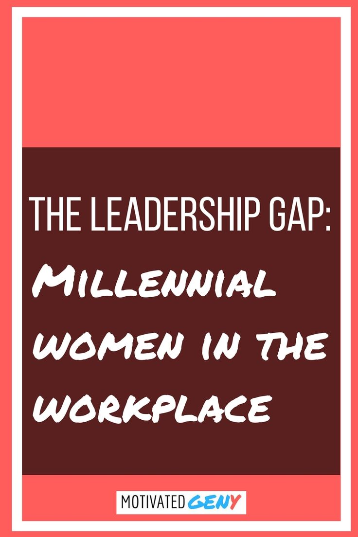 Millennial women are taking the modern workplace by storm - click the pic to check out the results of a recent career survey and the projected future of this generation of female leaders!