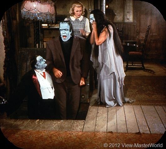 View-Master The Munsters (B481), Scene 18