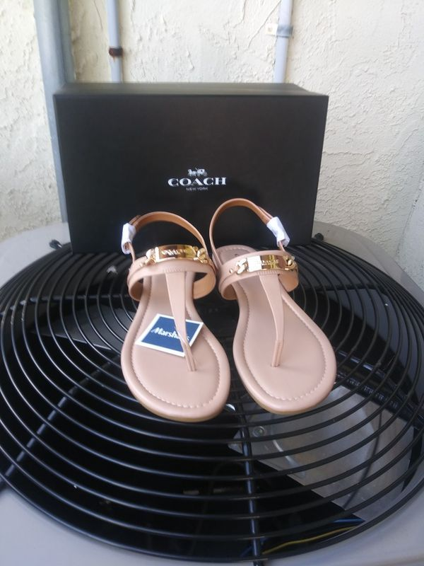 coach sandals on sale