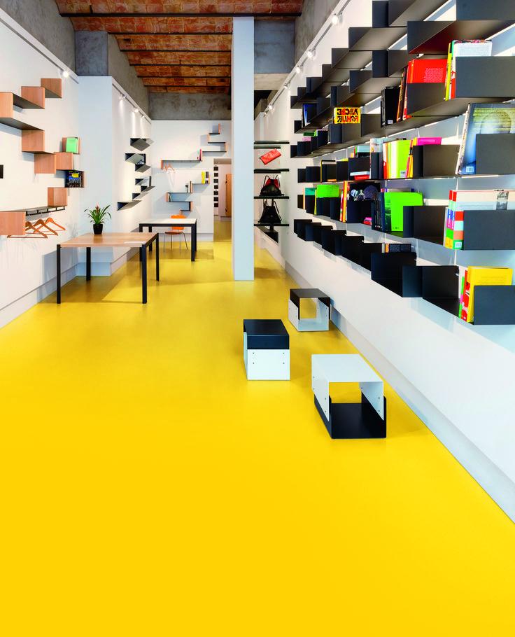 Bloc PUR Vinyl Flooring Product Range by Polyflor