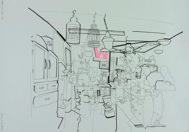 Dutch Uncle :: Lyndon Hayes :: REPORTAGE Drawings