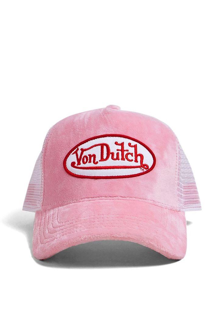Product Name:Von Dutch Velvet Trucker Hat, Category:ACC, Price:38