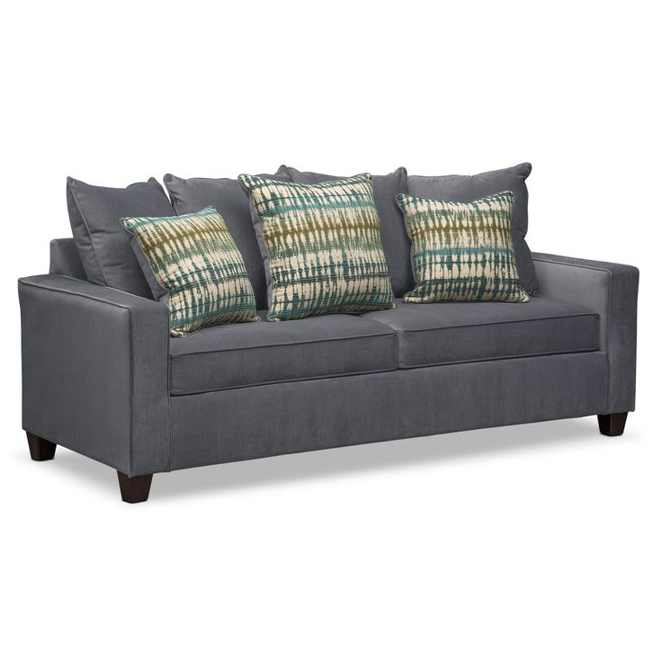 Sectional Sleeper Sofa Fall in love with velour as the fort of the Bryden sofa in