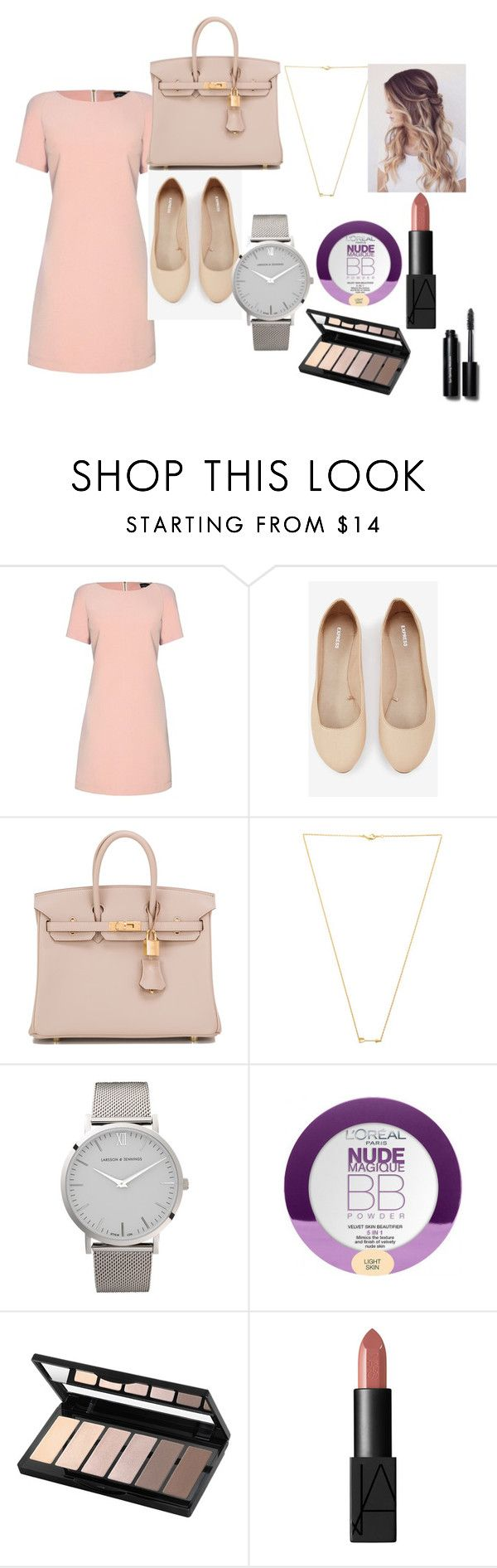 F5S by keepsmileanna on Polyvore featuring beauty, L'Oréal Paris, Isadora, Bobbi Brown Cosmetics, NARS Cosmetics, Wanderlust + Co, Larsson & Jennings, Hermès, James Lakeland and Express